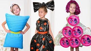 Веселая история как Маша делает новые платья. Дресс ап для вечеринки.