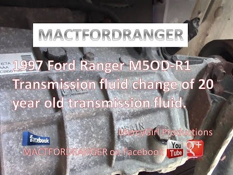 ford ranger 3 0 manual transmission fluid
