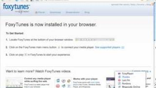 FoxyTunes add-on for Firefox2.mp4