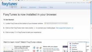 FoxyTunes add-on for Firefox2.mp4