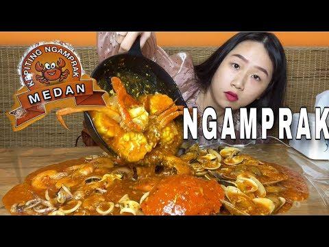 Seafood Paling Mantep Dan Murah Kepiting Ngamprak Jejezhuang Mukbangjejezhuang Youtube