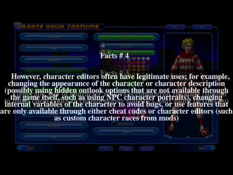 Character editor Top  7 Facts
