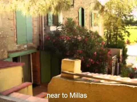 Property For Sale in the France: near to Millas Languedoc-Ro