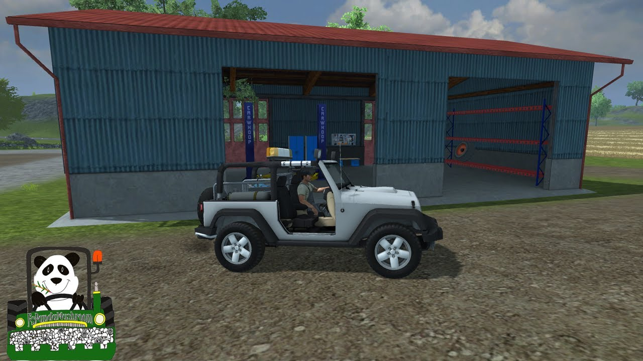 Farming simulator 2013 mod review vehicle damage mod service car