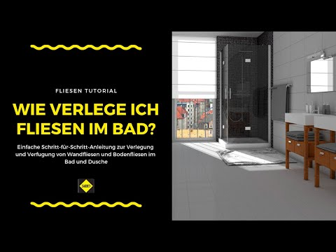 bodengleiche dusche einfache duschtassen montage mit doovi. Black Bedroom Furniture Sets. Home Design Ideas