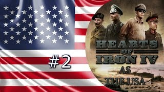 Twitch Edition Hearts Of Iron 4: USA Episode 2