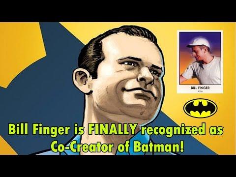 Bill Finger FINALLY recognized as Co-Creator of Batman!