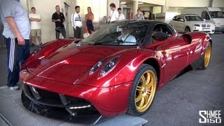 Pagani Huayra Track Pack - Startups and Driving in Monaco