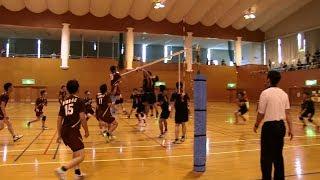 第59回県民体育大会熊毛地区大会男子バレーボール競技ダイジェスト