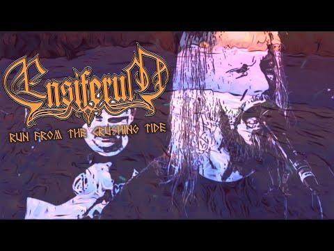 Ensiferum - Run From the Crushing Tide (OFFICIAL LYRIC VIDEO)