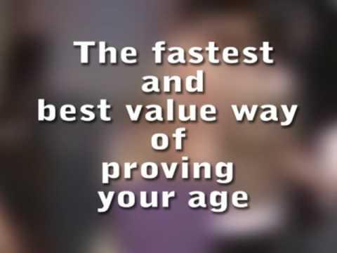 Validate UK Proof of age ID card