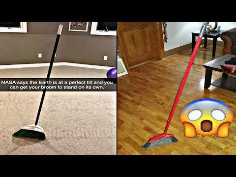 O 'broom challenge', o último reto viral