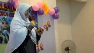 Majlis Konvokesyen Tadika Orange 2012-Ucapan Puan Su