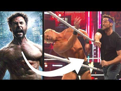 SuperHero Actors Who Fought WWE Wrestlers