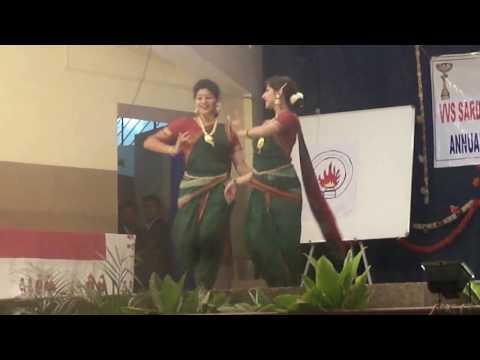Dance on Apsara aali and Pinga by Tanvi Deshpande and Sangeetha Phanish