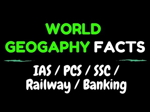 WORLD GEOGRAPHY FACTS
