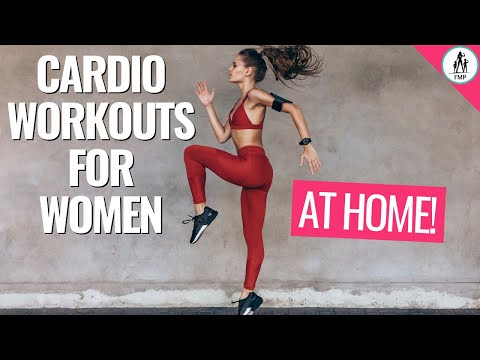 AT HOME Cardio Workout for Women To Lose Weight