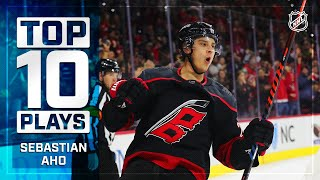 Top 10 Sebastian Aho Plays from 2019-20 | NHL