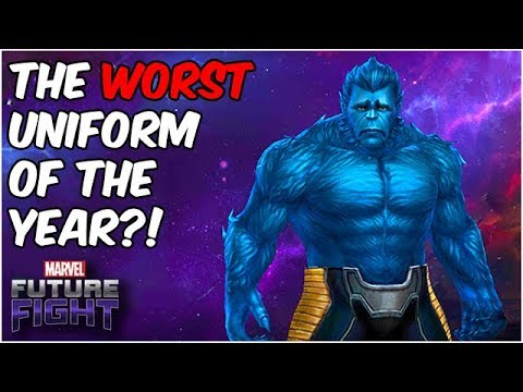 New Beast Uniform is Not Just BAD... It's AWFUL - Marvel Future Fight