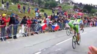 Tour de France 2013: 18. etapa Peter Sagan ide na Alpe d'Huez na zadnom kolese