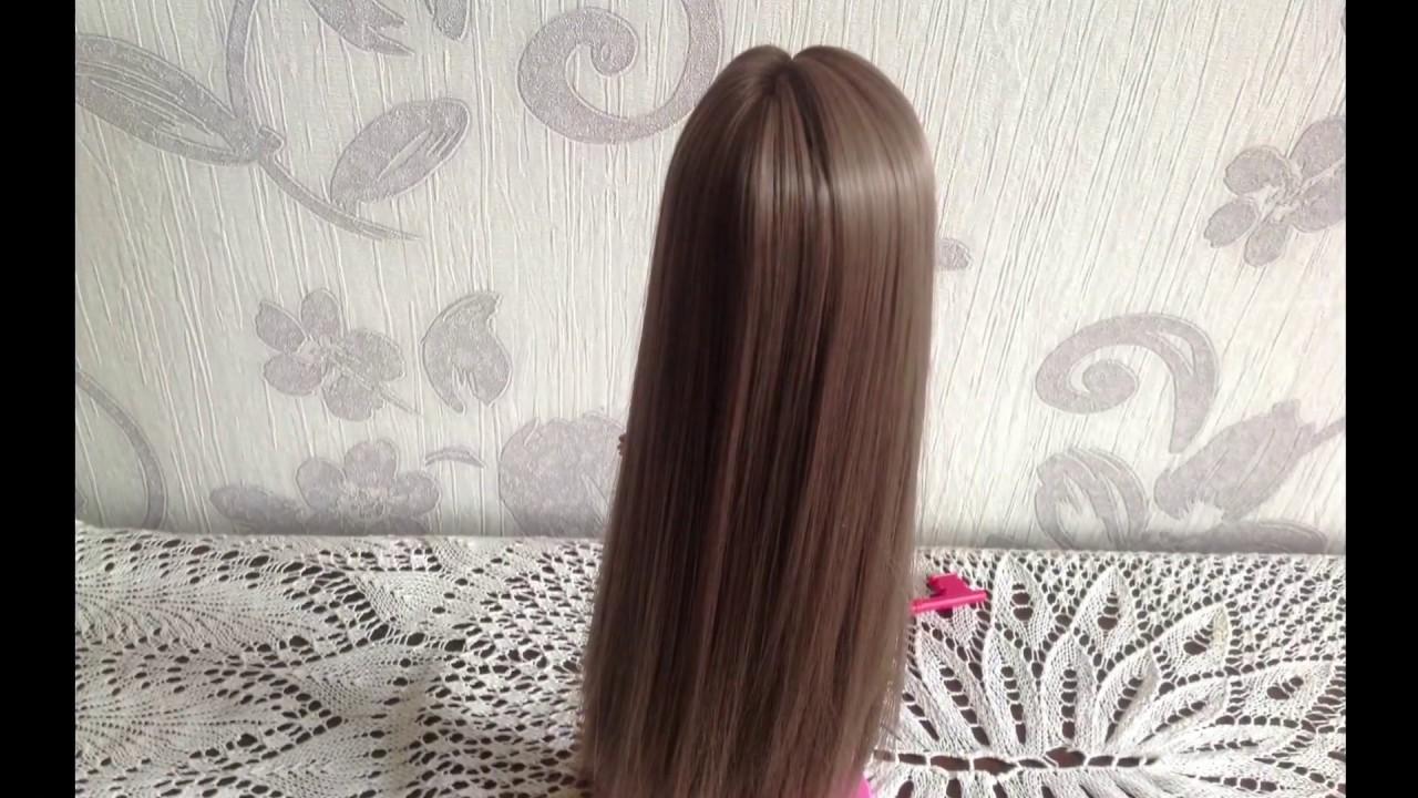 Как сделать волосы кукле из трессов фото 398