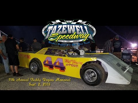 Tazewell Speedway Weekly Divisions Sept 2, 2018