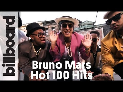 Top 5 Bruno Mars Hot 100 Hits of All Time! | Billboard