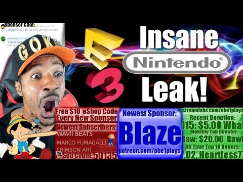 Insane Nintendo E3 Leak! Can All Of This Be Real?
