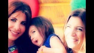 صور نانسي عجرم مع ابنتها إيلا