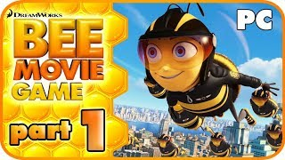Bee Movie Game Walkthrough Part 1 (PC, PS2, X360) No Commentary