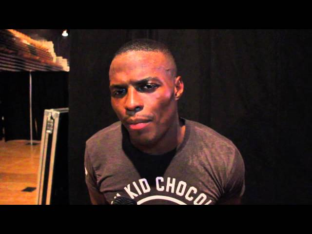 Peter Quillin: Why should i look at the guys behind me