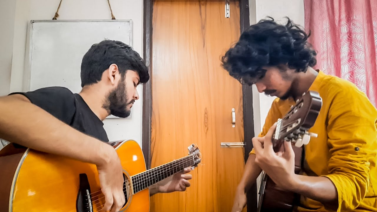 When two Guitarists meet after a long time!  Ft. @Soumyajit Pyne