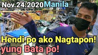 Nagtapon ng Basura naHuli ng DPS1 Manila Clearing Operation 2020 #manila #iskomorenodomagoso