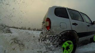 GoPro: дачный прохват Chevrolet Niva
