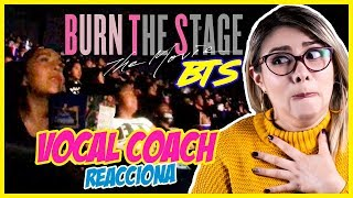 "BTS: La Película | VOCAL COACH REACCIONA a ""Burn The Stage""