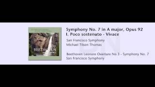 San Francisco Symphony - Beethoven Symphony No.7 - 02 - Movement I (excerpt)