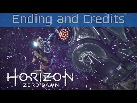 Horizon Zero Dawn - Ending and Credits [HD 1080P]