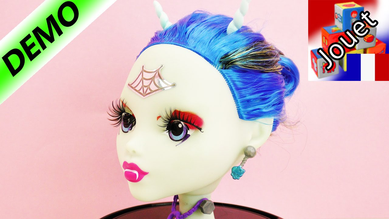 Monster high anti styling head t te coiffer et - Personnage monster high ...