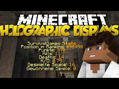 Holographic Displays Plugin | Minecraft