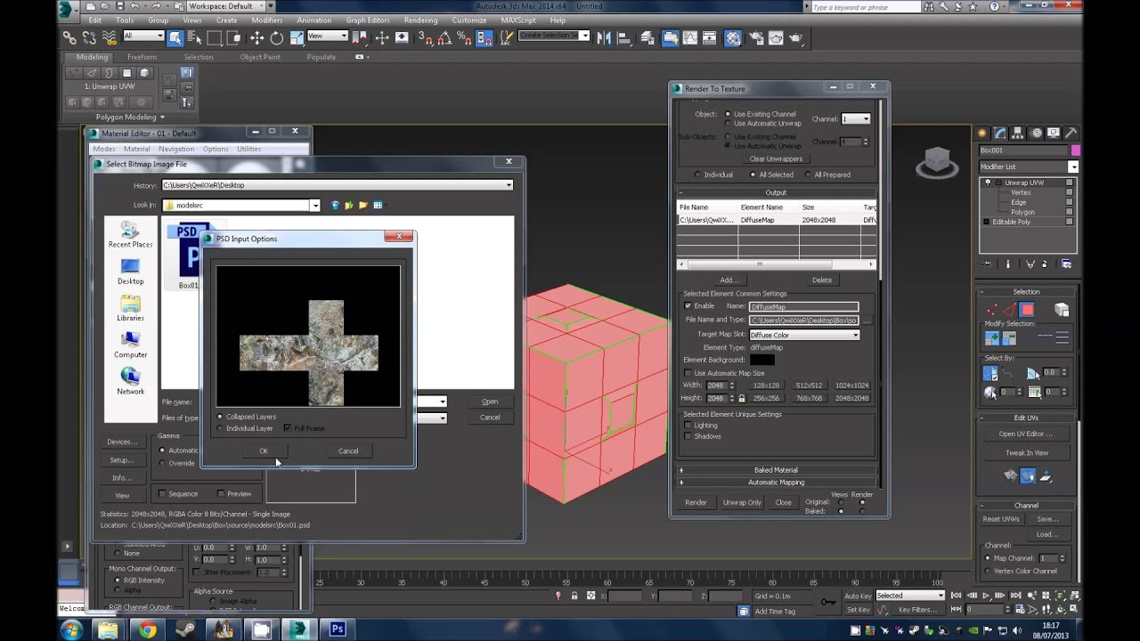 3ds max custom model into spark editor for NS2