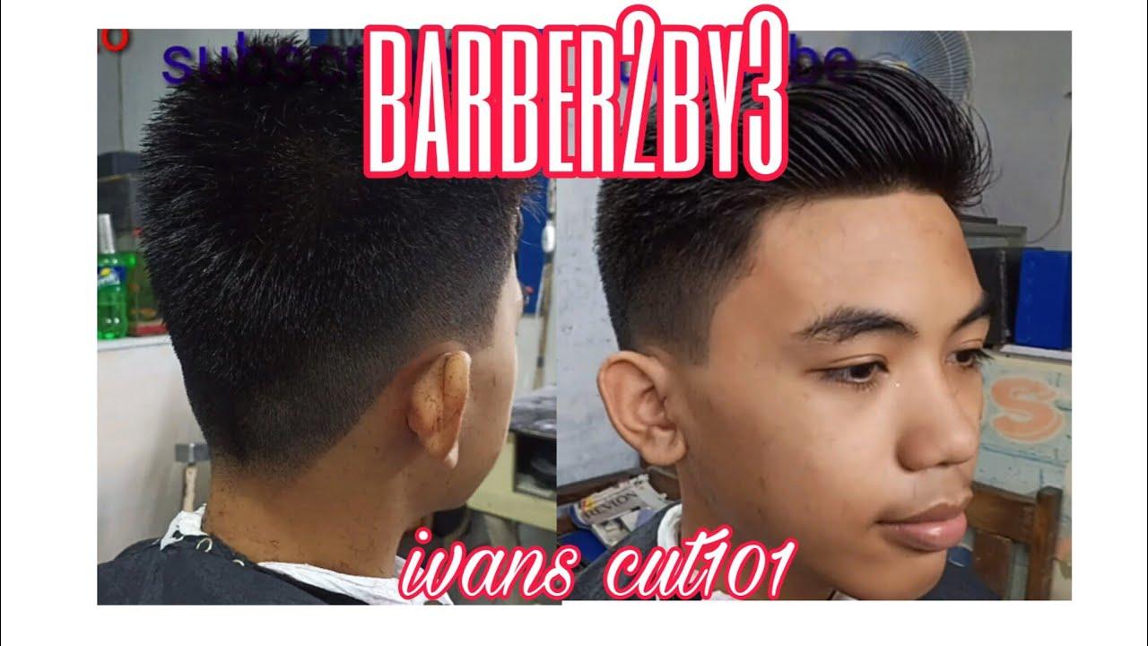 Haircut tutorial (Barber 12by12)standard haircut - YouTube