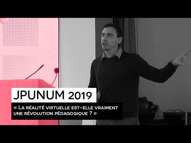 [EVENEMENT] : JPUNUM 2019 - Conférence Anaïck PERROCHON