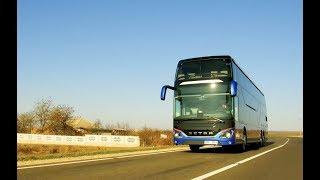 Cum merge? Setra S531 DT - cel mai modern autobuz din țară!