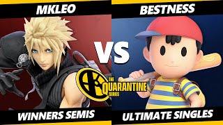 May Major Winners Semis - MkLeo (Cloud) Vs. BestNess (Ness) Smash Ultimate - SSBU