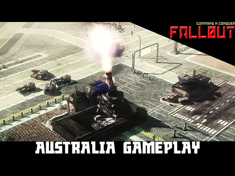 CNC Fallout - Australia Gameplay - Command & Conquer 3: Tiberium Wars Mod