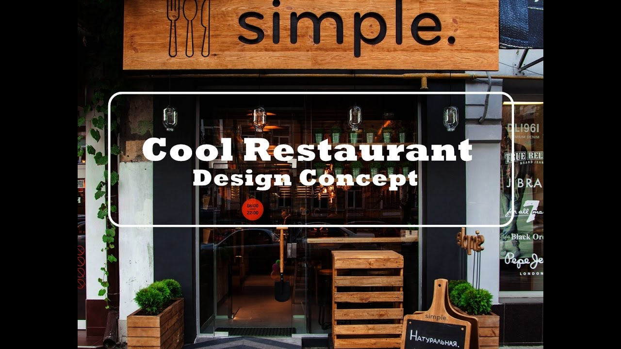 Restaurant Design Concepts Hot Nice Designing A Modern Fast Food Restaurant  Youtube