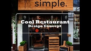 HOT Nice Designing a Modern Fast Food Restaurant