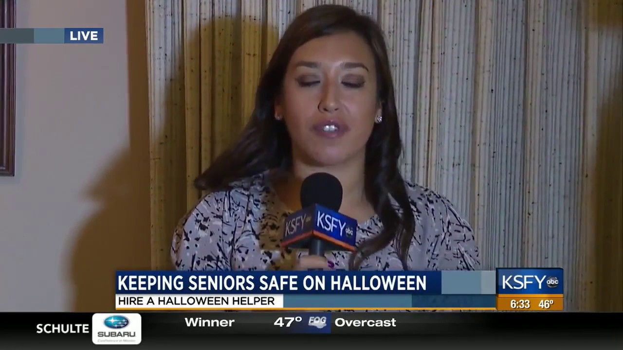 ksfy abc sioux falls, sd halloween helpers - youtube