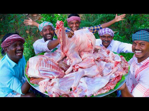 MUGHLAI MUTTON CURRY | Famous Mughlai Mutton Recipe Cooking in Village | Mutton Korma Recipe