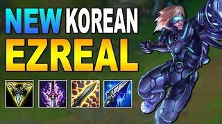 NEW KOREAN EZREAL BUILD | League of Legends
